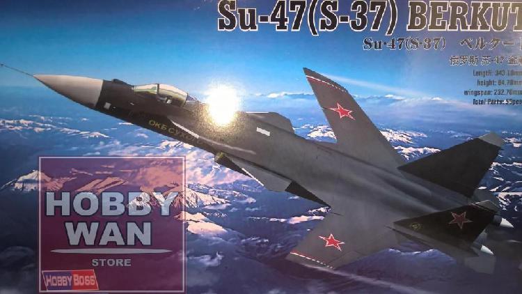 Avion sukhoi su47 berkut 1/72 hobbyboss modelo a escala