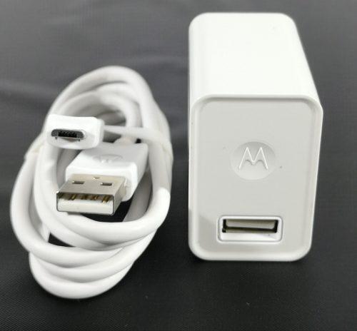 Cargador Motorola Original Turbo Power Tipo V8, E4 E5 G4 G5