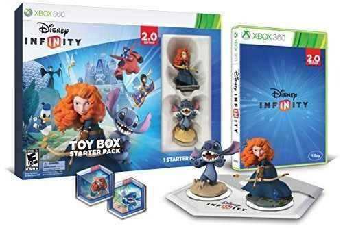 Disney infinity toy box starter pack 20 edition xbox 360