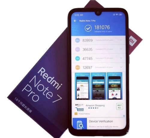 XIAOMI REDMI NOTE 7 PRO 6GB/128GB GLOBAL ROM segunda mano  Peru (Todas las ciudades)