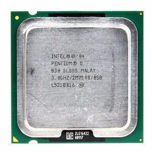Intel Pentium D 830 3.0ghz 800mhz Completo Con Su Cooler