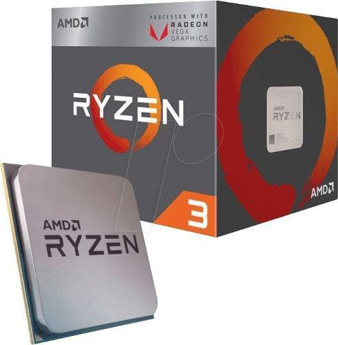 Procesador Amd Ryzen 3 2200g, 3.50ghz, 4mb L3, 4 Core, Am4
