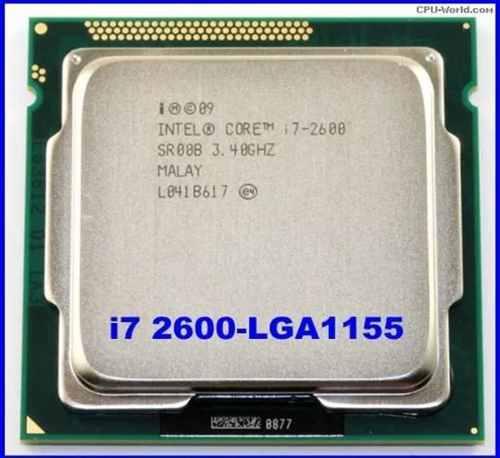 Procesador Core I7 Segunda Generacion 2600 Socket 1155