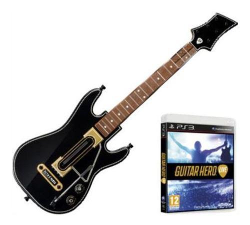 Guitarra hero live para ps3 incluye 1 videojuego guitar hero