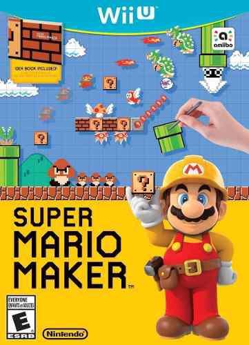 Juegos digitales wii u, mario maker + pack de juegos gratis