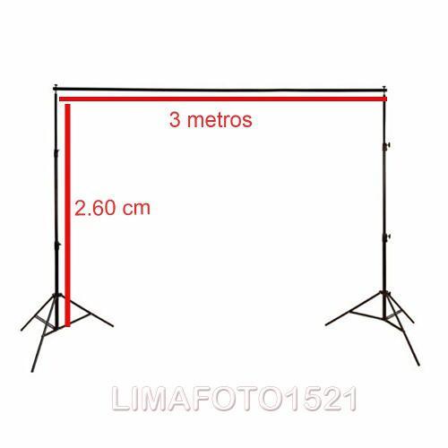 Portafondo de fotografia y video liviano (2,60x3 m)tienda