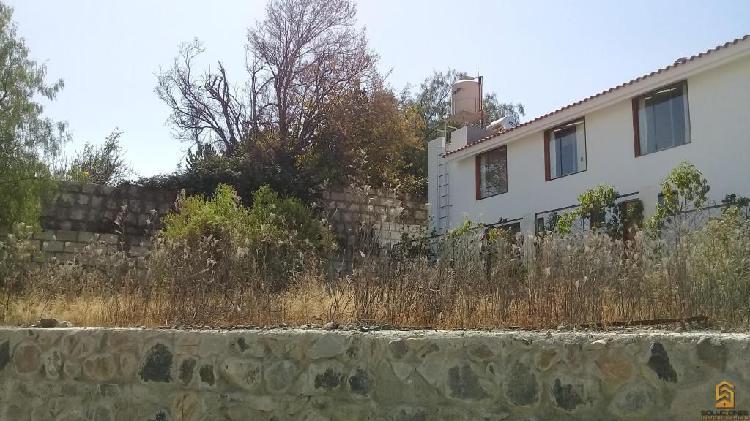 Soluciones inmobiliaria vende terreno de 333m2 en