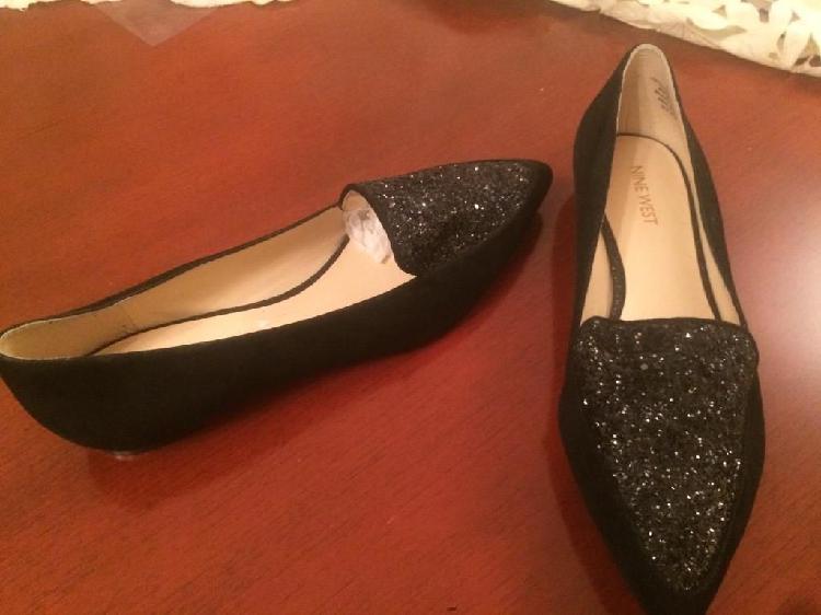 Zapatos negros nine west