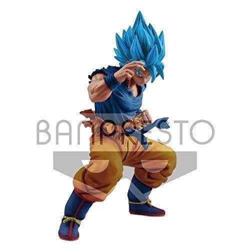 Banpresto dragon ball figura de super premio, color azul