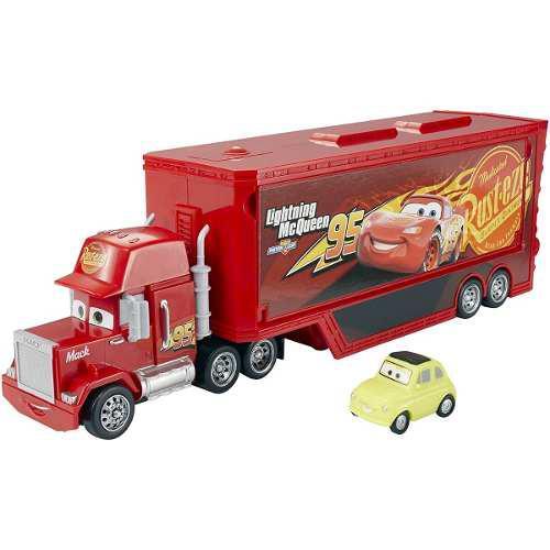 Disney / pixar cars 3 travel time mack playset 2 autos