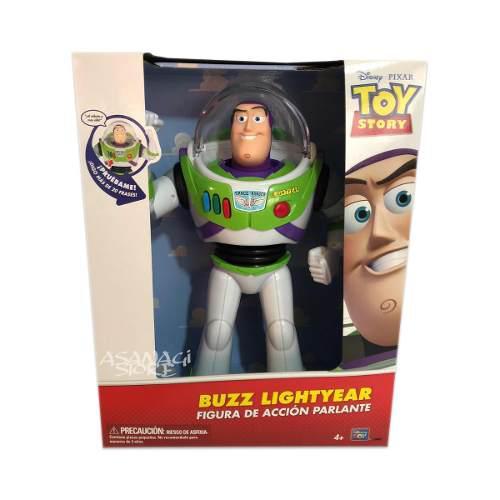 Figura de acción buzz lightyear parlante disney toy story