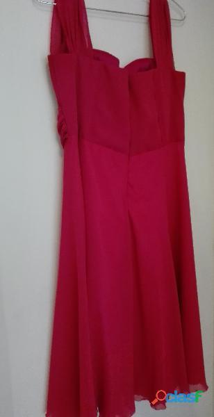 vestido fucsia mujer talla L OFERTA 4