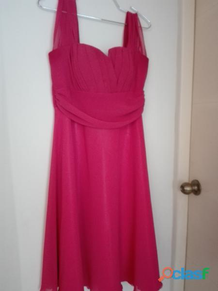 vestido fucsia mujer talla L OFERTA 1