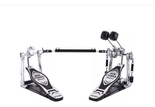 Pedal de bombo doble hp200ptw iron cobra sin case