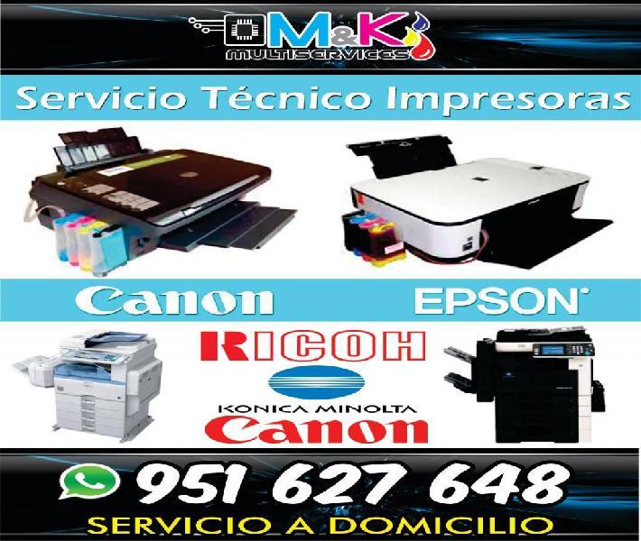 Tecnico impresora fotocopiadora pc laptop