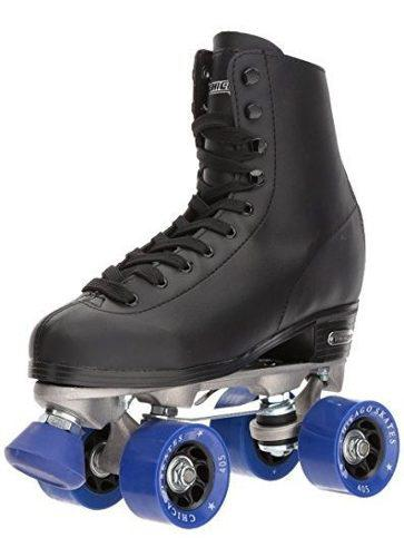 Patines de ruedas roller rink para hombre de chicago negro