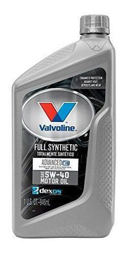 Valvoline 5w40 mst synpower aceite de motor sintetico comple