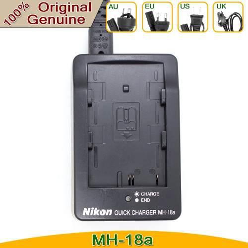 Cargador nikon mh-18a original nuevo