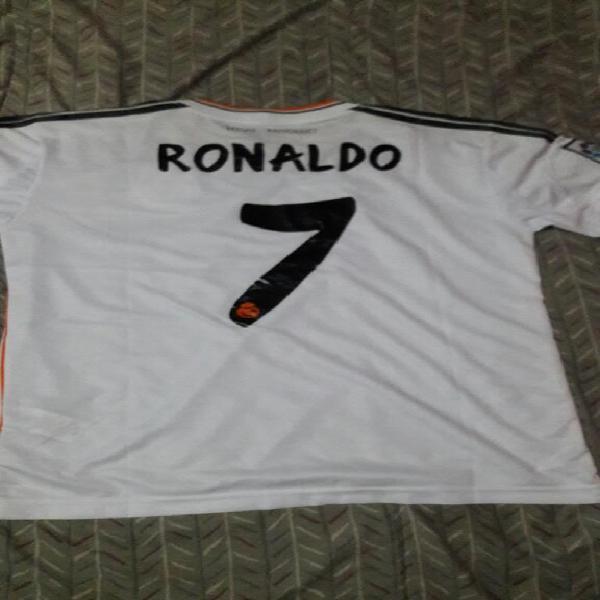 Camiseta ronaldo real madrid blanco