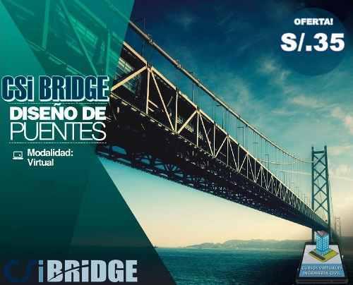 Curso virtual análisis y diseño de puentes con csi bridge