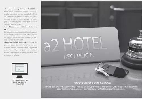 Hotel resort posada sistema administrativo sin renta.mundial
