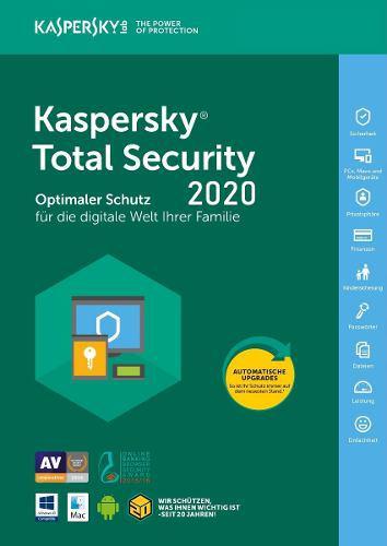 Kaspersky total security 1 pc 1 año oferta especial