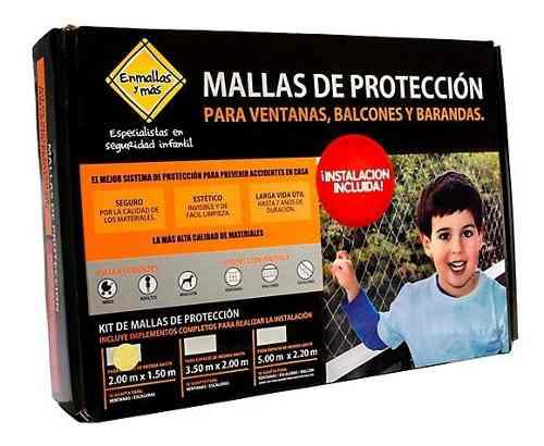 Mallas de seguridad para niños