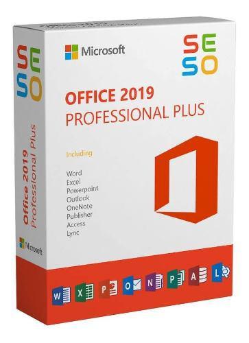 Office 2019 / licencia + software / envío inmediato / 1 pc