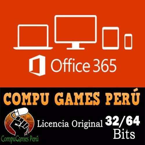 Office 365 permanente para 5 pc's mac o tablet envio en 5min