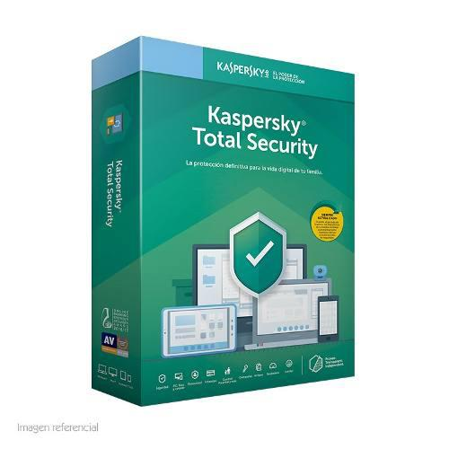 Software kaspersky total security 2019 3 pc 1 ano