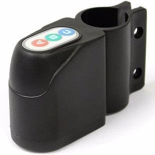 Alarma para bicicleta moto con sensor de movimiento y clave
