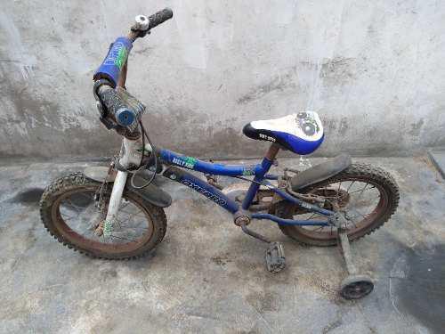 Bicicleta en buen estado para niño pequeño aro 6 usada
