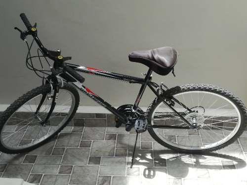 Bicicleta monarette volcano aro 26 negra hombre