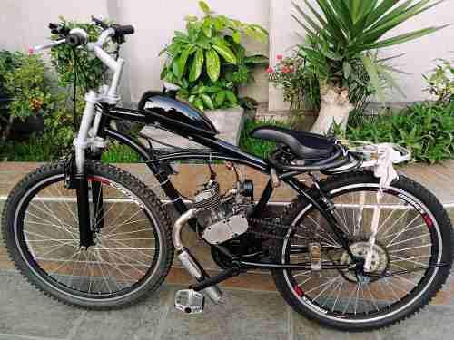 Bicimoto / bicicleta con motor montañera mejorada y ulock