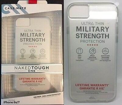Carcasa iphone 6s/7/8 case-mate naked tough