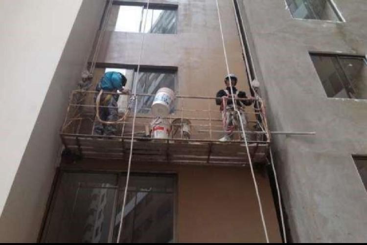 Pintado mantenimiento edificio casas ofi
