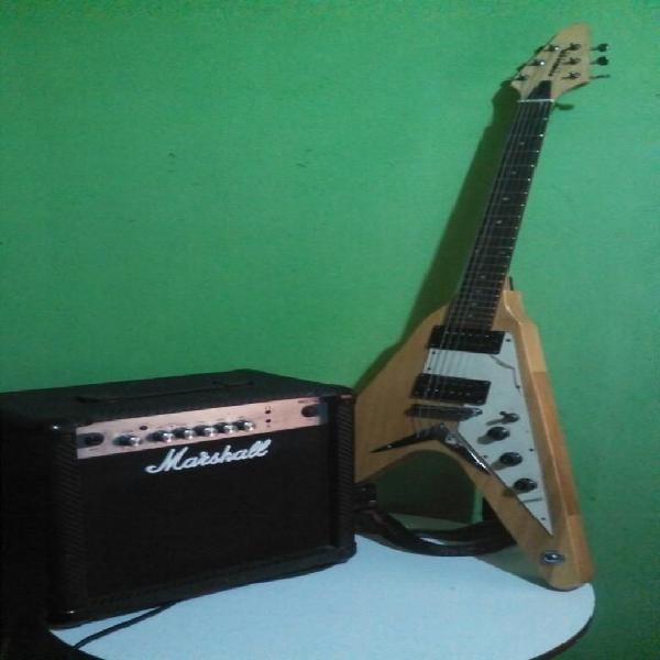 Vendo amplificador marshall y guitarra