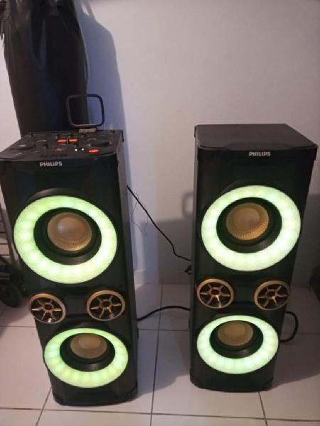 Equipo de sonido philips nx