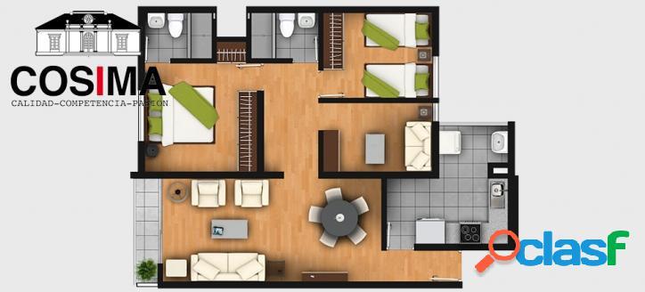 Moderno departamento en condominio en cercado de lima