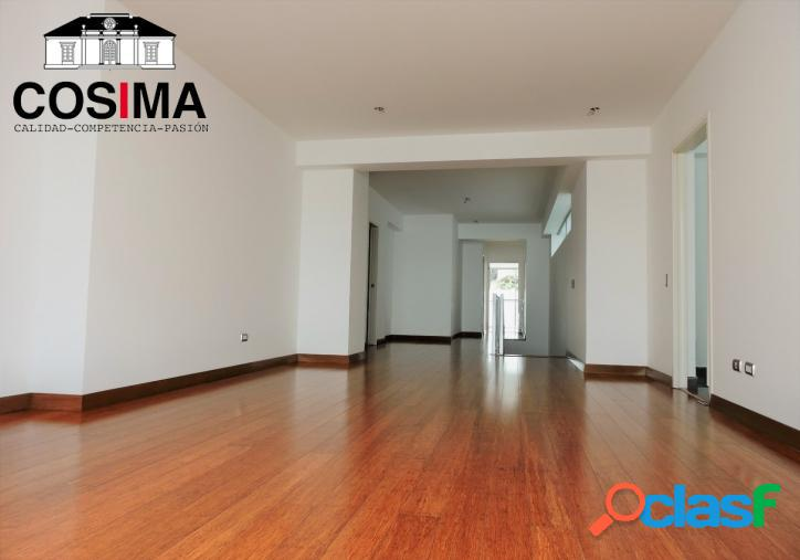 Moderno dúplex de estreno con 3 dormitorios en san isidro