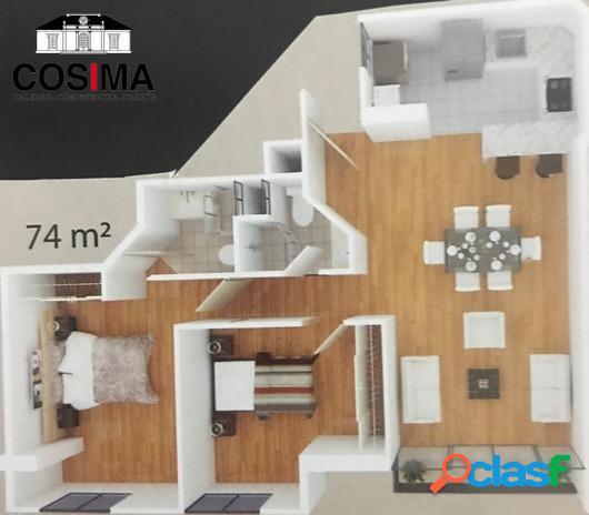 Departamento estreno frente Mar en San Miguel,74 m2(piso2-5) 3