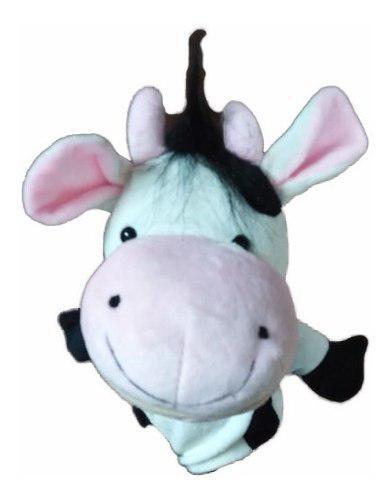 Titeres de animales vaca