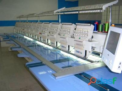 Vendo maquina bordadora computarizada plana polleras 957211260