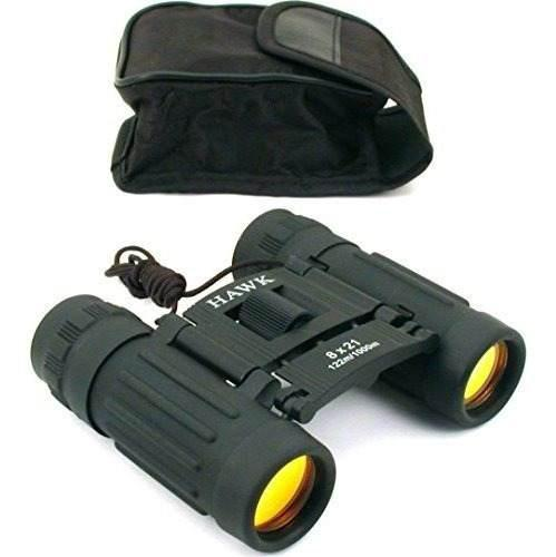 8x21 binoculares negros ruby recubierto lente caza camping