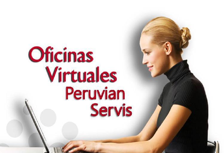 Alquiler de oficina virtual en miraflores para empresas