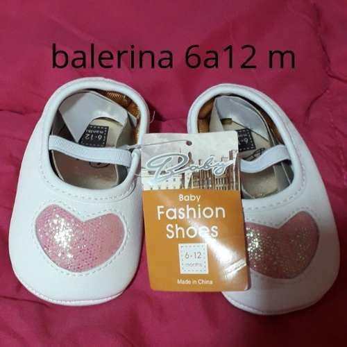 Balerinas bebes 6 -12 meses