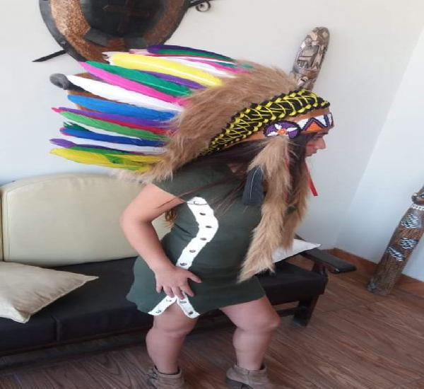 Penachos de Indios Americanos