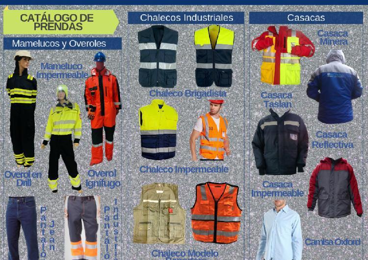 Ropa industrial | uniformes de trabajo| fabricaciones santa