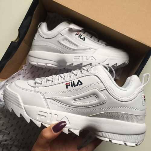 Zapatillas fila disruptor de mujer