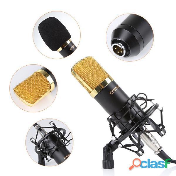 kit de micrófono condensador profesional para estudio 2